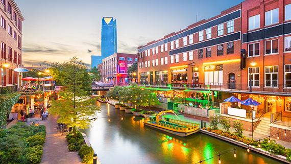 Bricktown Canal at Oklahoma